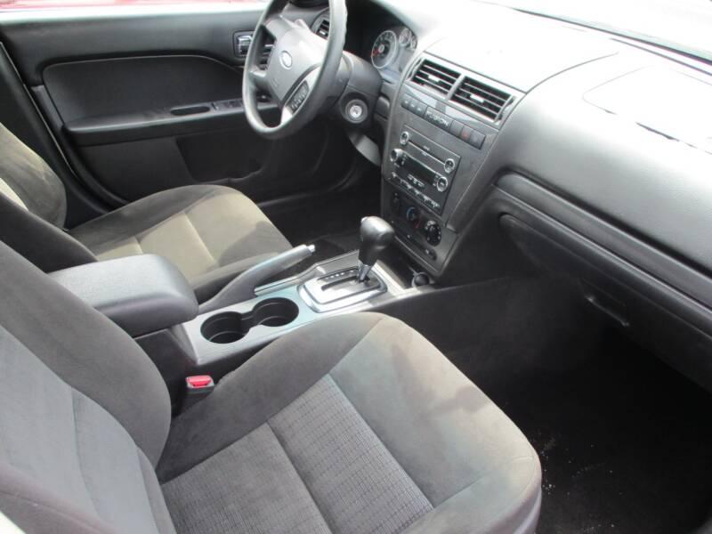 2008 Ford Fusion I4 SE 4dr Sedan - Wichita KS