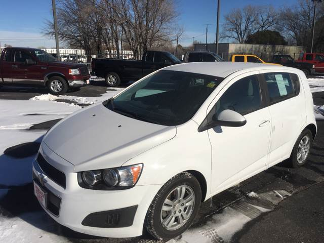 2012 Chevrolet Sonic LS 4dr Hatchback w/2LS - Wichita KS