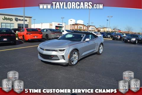 2016 Chevrolet Camaro for sale in Bradley, IL