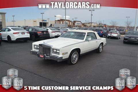 1984 Cadillac Eldorado for sale in Bradley, IL