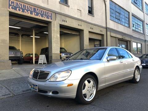 Mercedes Of Portland >> 2002 Mercedes Benz S Class For Sale In Portland Or
