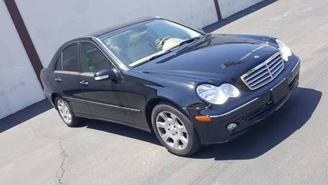 2005 Mercedes-Benz C-Class for sale at Carpower Trading Inc. in Anaheim CA