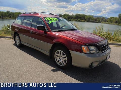 2003 Subaru Outback for sale in Wheat Ridge, CO
