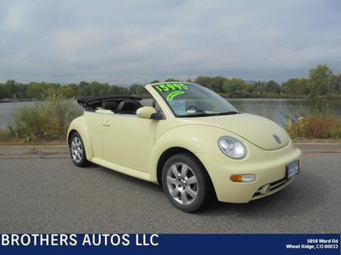 2003 Volkswagen New Beetle for sale in Wheat Ridge CO