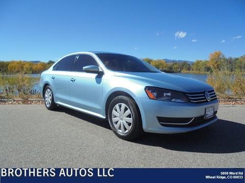 2012 Volkswagen Passat for sale in Wheat Ridge, CO