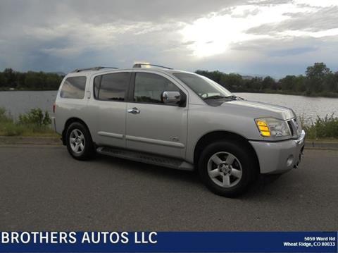 2007 Nissan Armada for sale in Wheat Ridge, CO
