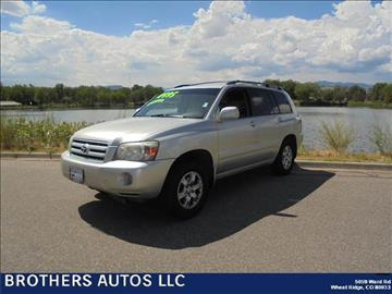 2004 Toyota Highlander for sale in Wheat Ridge, CO