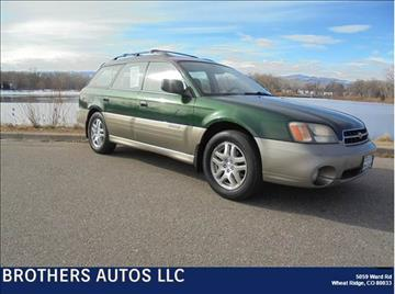 2002 Subaru Outback for sale in Wheat Ridge, CO