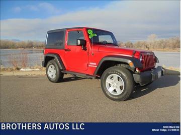 2011 Jeep Wrangler for sale in Wheat Ridge, CO