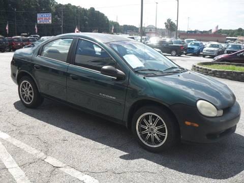 2000 Dodge Neon for sale in Smyrna, GA