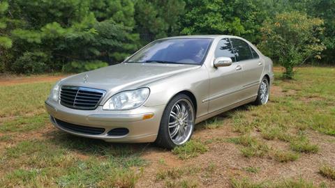 2003 Mercedes-Benz S-Class for sale in Woodstock, GA