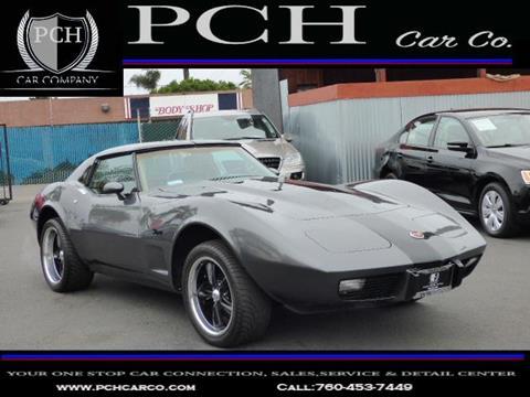 1975 Chevrolet Corvette for sale in Oceanside, CA
