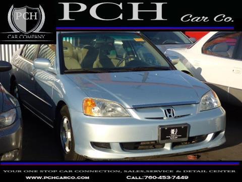 2003 Honda Civic for sale in Oceanside, CA
