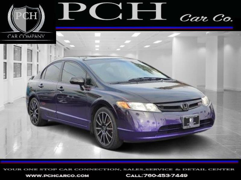 2008 Honda Civic For Sale At PCH CAR CO In Oceanside CA