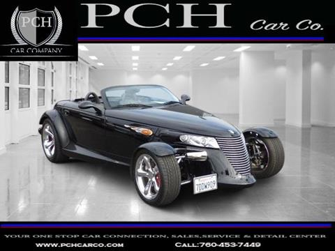 1999 Plymouth Prowler for sale in Oceanside CA