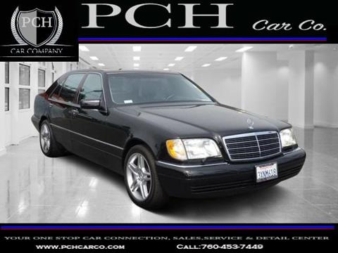 1998 Mercedes-Benz S-Class for sale in Oceanside CA