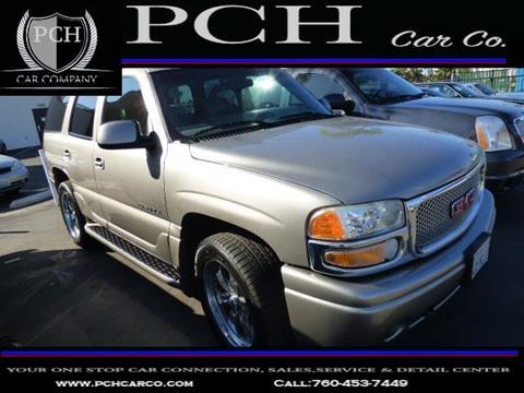 2002 GMC Yukon for sale in Oceanside CA