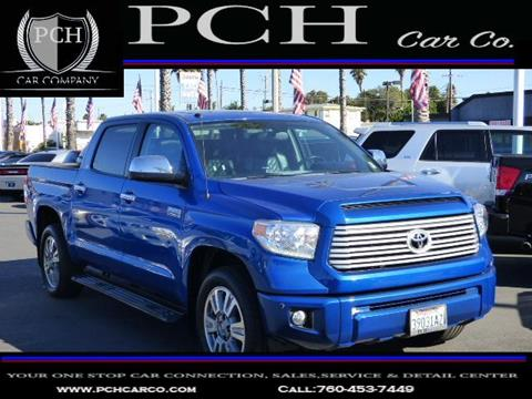 2016 Toyota Tundra for sale in Oceanside CA