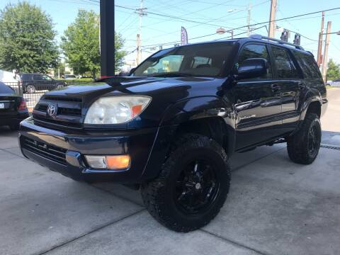 2004 Toyota 4Runner for sale at Michael's Imports in Tallahassee FL