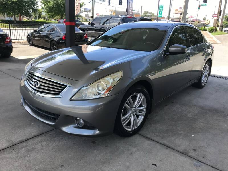 2012 Infiniti G25 Sedan for sale at Michael's Imports in Tallahassee FL
