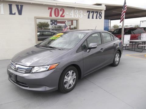 2012 Honda Civic for sale in Las Vegas, NV