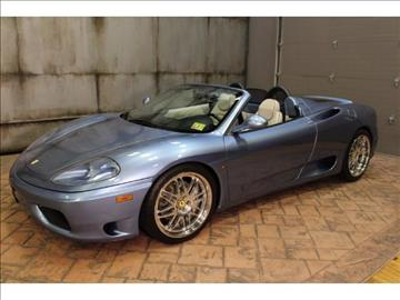 2001 Ferrari 360 Spider for sale in Pennington, NJ