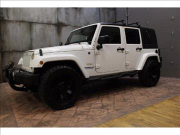 2012 Jeep Wrangler Unlimited for sale in Pennington, NJ