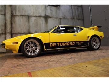 De Tomaso Pantera For Sale  Carsforsalecom