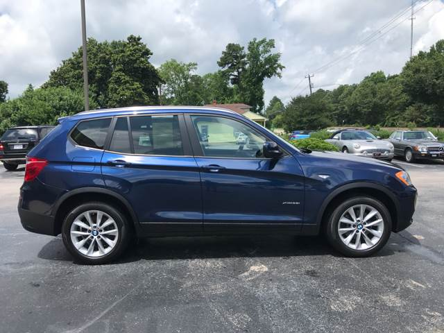 2014 BMW X3 for sale at European Performance in Raleigh NC
