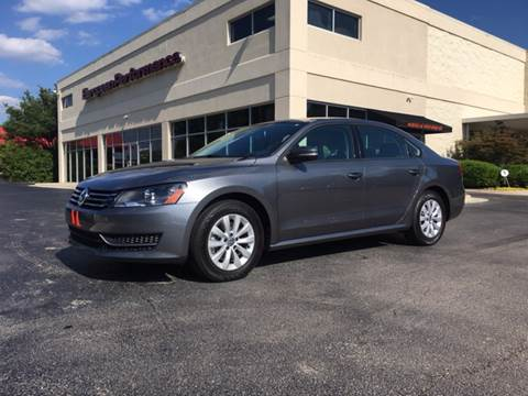 2013 Volkswagen Passat for sale at European Performance in Raleigh NC