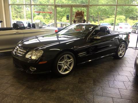 2007 Mercedes-Benz SL-Class for sale at European Performance in Raleigh NC