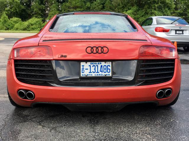 2009 Audi R8 for sale at European Performance in Raleigh NC