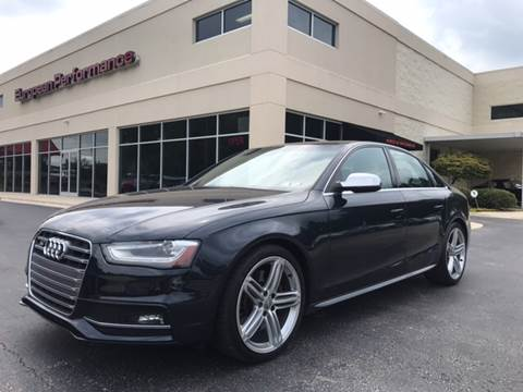 2013 Audi S4 for sale at European Performance in Raleigh NC