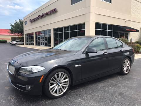 2011 BMW 5 Series for sale at European Performance in Raleigh NC