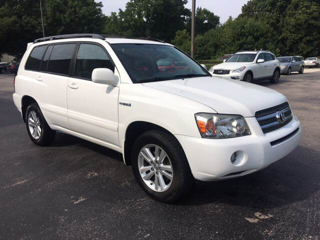 2007 Toyota Highlander Hybrid for sale at European Performance in Raleigh NC