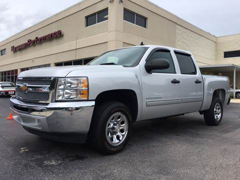 2012 Chevrolet Silverado 1500 for sale at European Performance in Raleigh NC