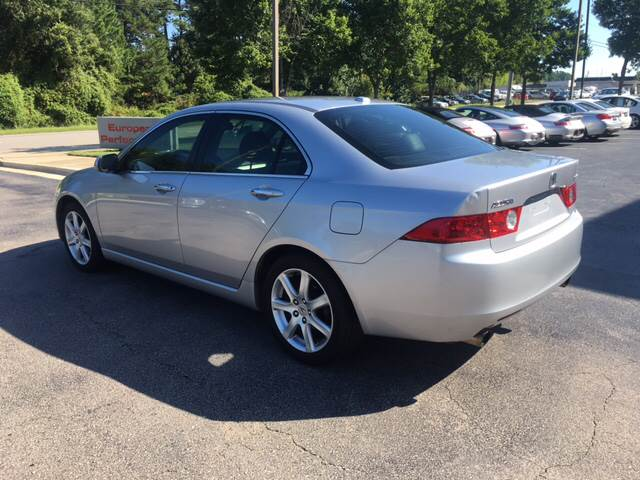 2005 Acura TSX for sale at European Performance in Raleigh NC