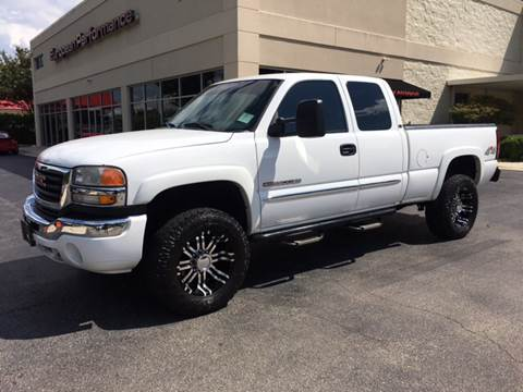 2006 GMC Sierra 2500HD for sale at European Performance in Raleigh NC