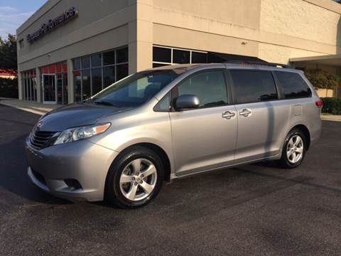 2012 Toyota Sienna for sale at European Performance in Raleigh NC