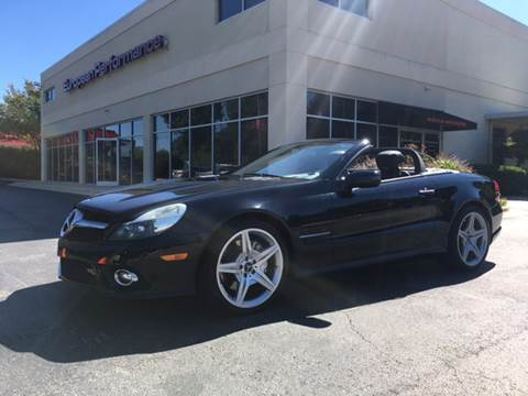 2009 Mercedes-Benz SL-Class for sale at European Performance in Raleigh NC