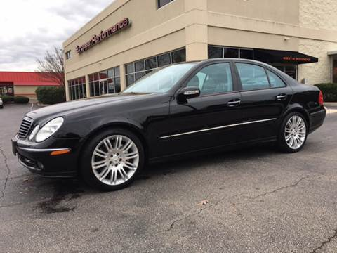 2006 Mercedes-Benz E-Class for sale at European Performance in Raleigh NC