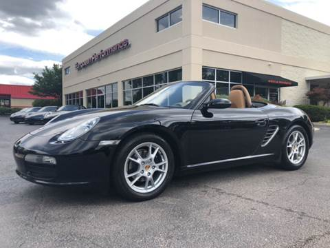 2005 Porsche Boxster for sale at European Performance in Raleigh NC