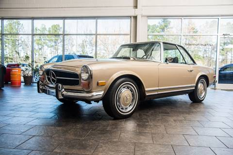 1971 Mercedes-Benz SL-Class for sale at European Performance in Raleigh NC