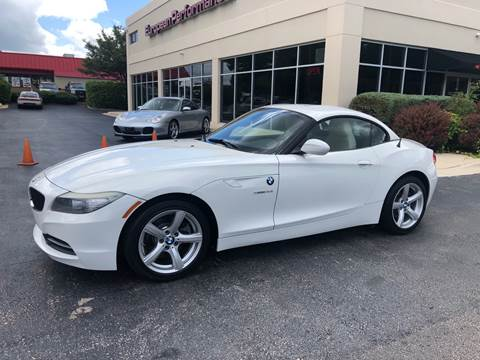 2009 BMW Z4 for sale at European Performance in Raleigh NC