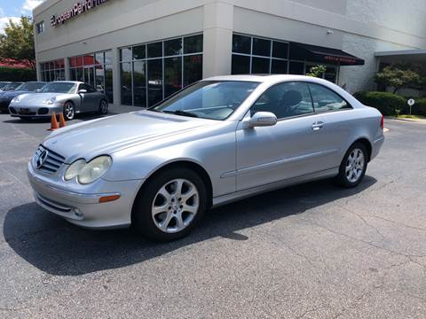 2003 Mercedes-Benz CLK for sale at European Performance in Raleigh NC