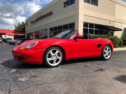 2000 Porsche Boxster for sale at European Performance in Raleigh NC