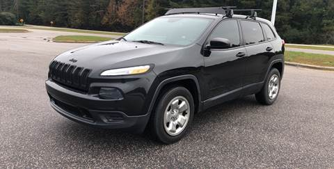 2015 Jeep Cherokee for sale at European Performance in Raleigh NC