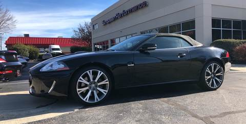 2011 Jaguar XK for sale at European Performance in Raleigh NC