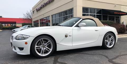 2008 BMW Z4 M for sale at European Performance in Raleigh NC