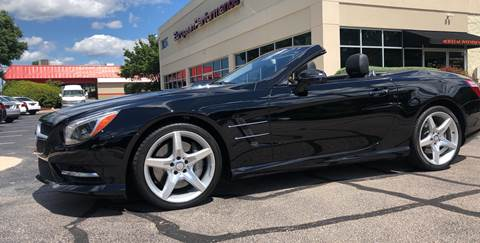2014 Mercedes-Benz SL-Class SL 550 for sale at European Performance in Raleigh NC